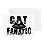 Cat Fanatic Greeting Cards (Pk of 10)