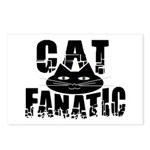 Cat Fanatic Postcards (Package of 8)