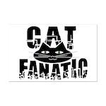 Cat Fanatic Mini Poster Print