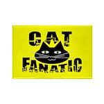 Cat Fanatic Rectangle Magnet (100 pack)