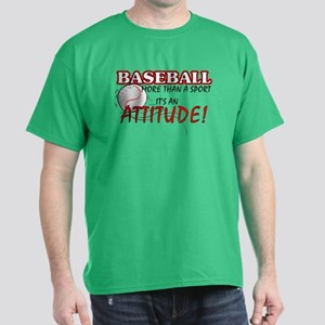 Baseball, More Than A Sport Dark T-Shirt