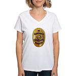 Newman Police Women's V-Neck T-Shirt