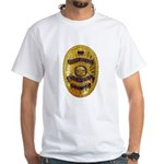 Newman Police White T-Shirt