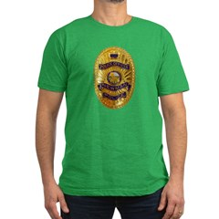 Newman Police Men's Fitted T-Shirt (dark)