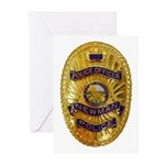 Newman Police Greeting Cards (Pk of 10)