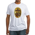 Newman Police Fitted T-Shirt