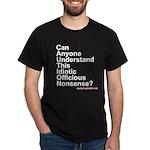 CAUTION Black T-Shirt