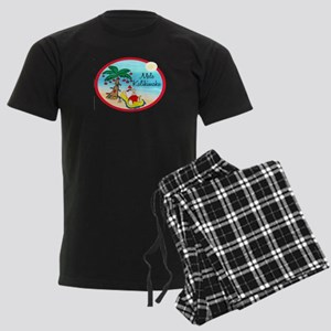 hawaiin xmas tee 3 Pajamas