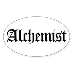 Alchemist Oval Decal