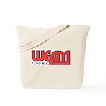 WEAM Wash, DC 1960s -  Tote Bag