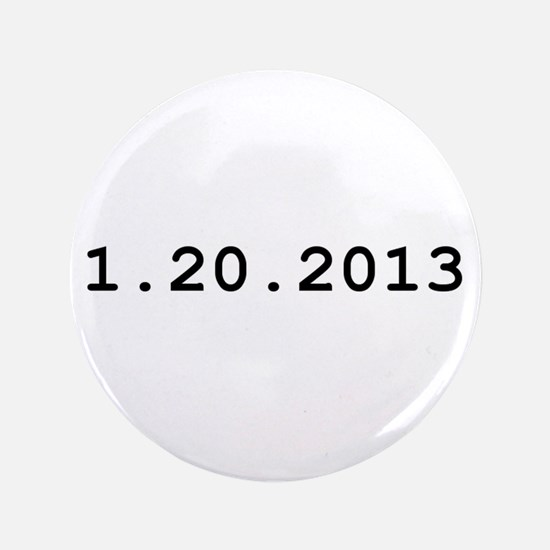 "Cute Inauguration 2013 3.5"" Button"