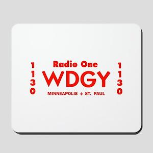 WDGY Minneapolis 1961 -  Mousepad