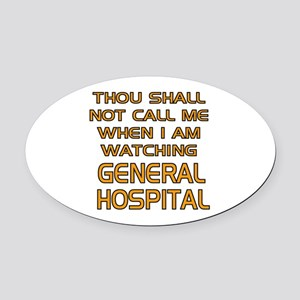 GH Call Alert Oval Car Magnet
