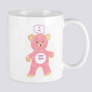 The Swear Bears - Shit Bear Mug