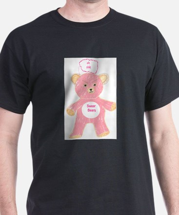 The Swear Bears - Shit Bear T-Shirt