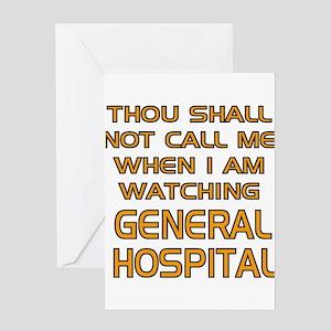 GH Call Alert Greeting Card