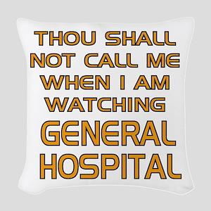 GH Call Alert Woven Throw Pillow