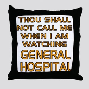 GH Call Alert Throw Pillow