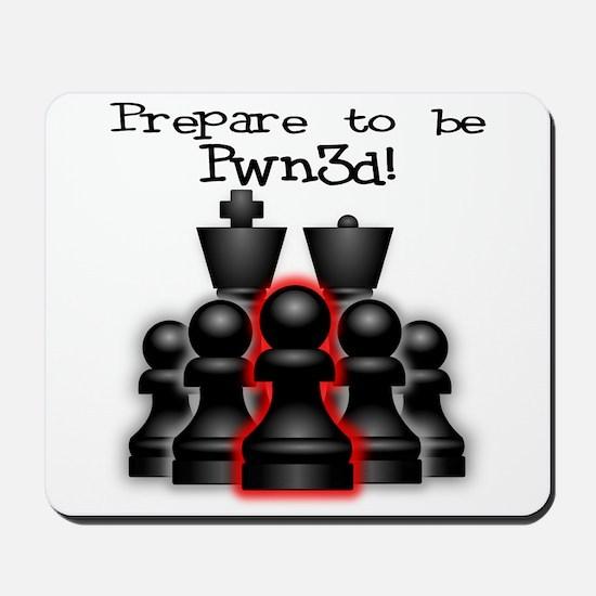 Chess Pwn3d! Mousepad