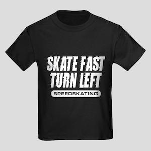 Turn Left Kids Dark T-Shirt