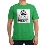 Neighborhood Watch ~ Men's Fitted T-Shirt (dark)