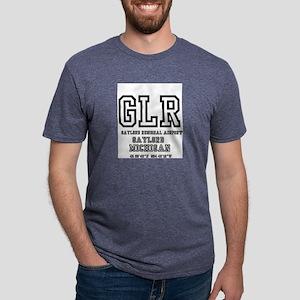 AIRPORT CODES - GLR - GAYLORD - MICHIGAN T-Shirt