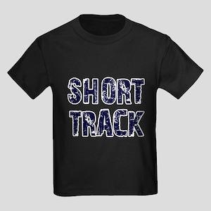 Short Track Kids Dark T-Shirt