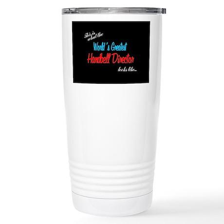 Designs in Black Stainless Steel Travel Mug