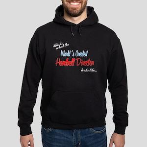 Designs in Black Hoodie (dark)