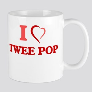 I Love TWEE POP Mugs