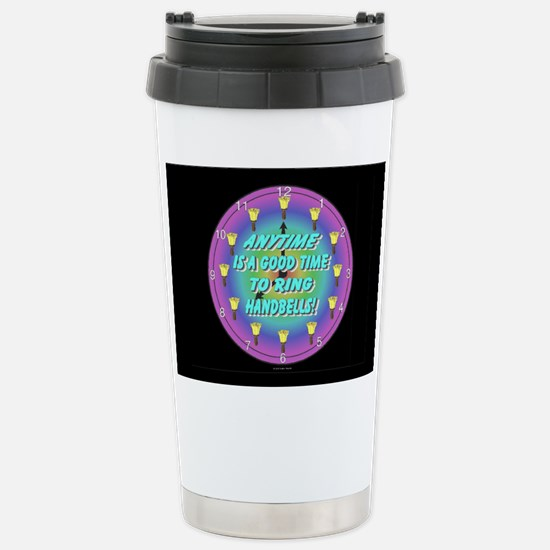 Anytime Black Stainless Steel Travel Mug