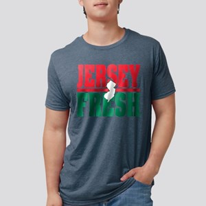 Jersey Fresh Logo - white NJ & color T-Shirt