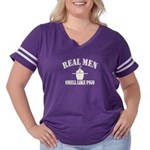 Real Men Smell Like Pigs Women's Plus Size Footbal