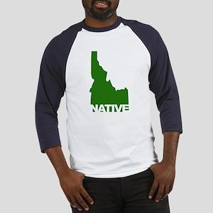 Idaho Native Baseball Jersey