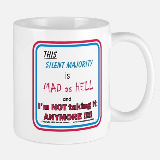 I'm MAD as HELL Mug