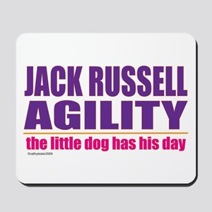 Jack Russell Agility Mousepad