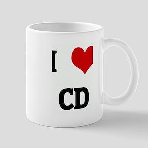 I Love CD Mug