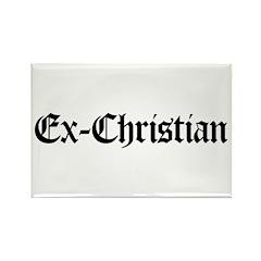 Ex-Christian Rectangle Magnet (10 pack)