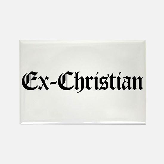 Ex-Christian Rectangle Magnet