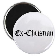 """Ex-Christian 2.25"""" Magnet (10 pack)"""