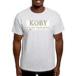 KOBY San Francisco 1958 -  Ash Grey T-Shirt
