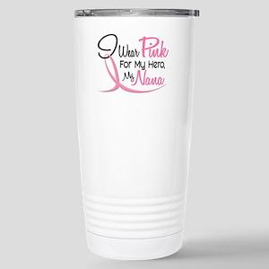 Pink For My Hero 3 NANA Stainless Steel Travel Mug