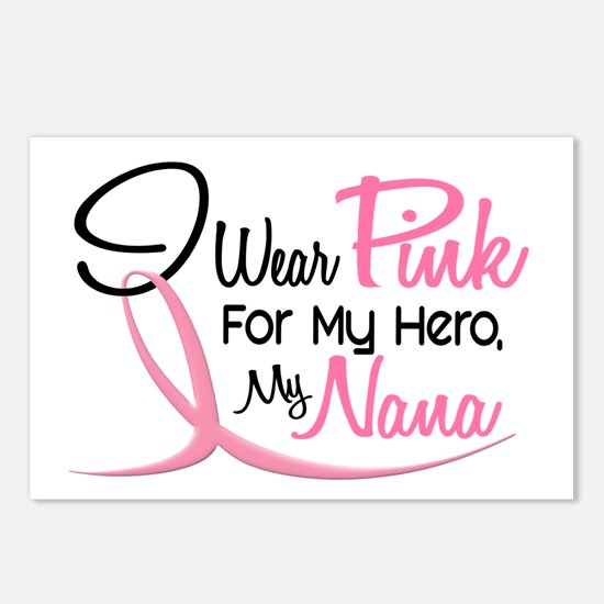 Pink For My Hero 3 NANA Postcards (Package of 8)