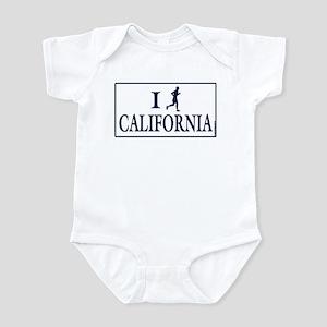 Men's I Run California Infant Bodysuit