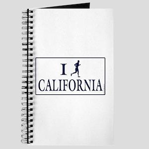 Men's I Run California Journal