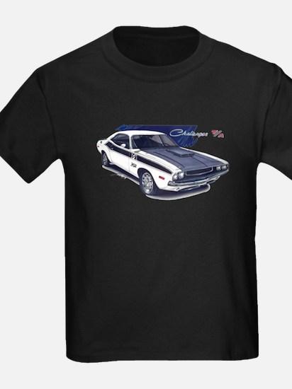 Dodge Challenger White Car T
