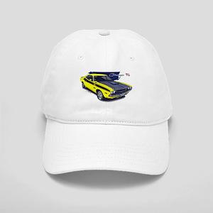Dodge Challenger Yellow Car Cap