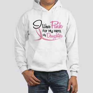 Pink For My Hero 3 DAUGHTER Hooded Sweatshirt
