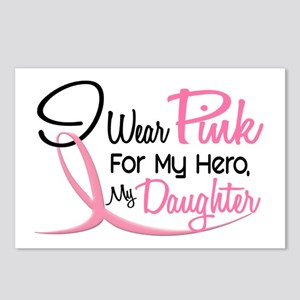 Pink For My Hero 3 DAUGHTER Postcards (Package of