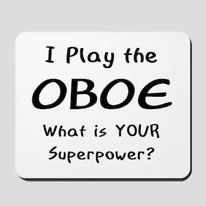 play oboe Mousepad